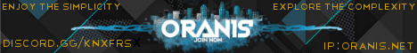 Banner for Oranis MC Minecraft server