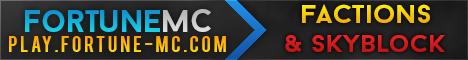 Banner for Fortune MC Minecraft server