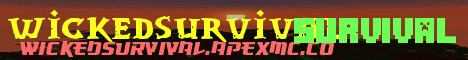 Banner for WickedSurvival Minecraft server