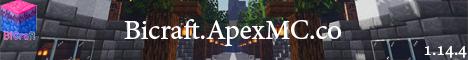 Banner for Bicraft Minecraft server