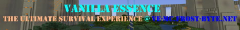 Banner for Vanilla Essence II server
