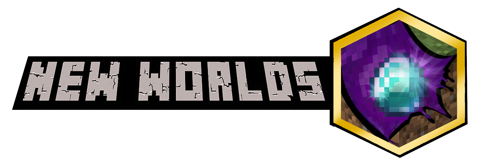 Banner for New Worlds SMP server