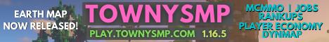 Banner for TownySMP server