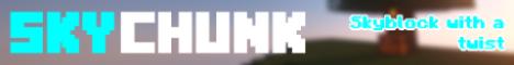 Banner for SkyChunk [1.13.2 - 1.15.x] Minecraft server