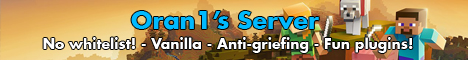 Banner for Oran1's PVE Survival Server server