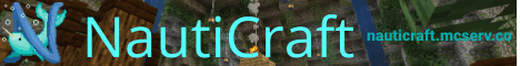 Banner for NautiCraft server