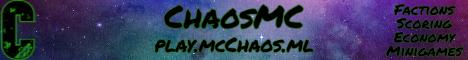 Banner for ChaosMC server
