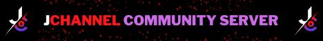 Banner for JChannel Community Server server