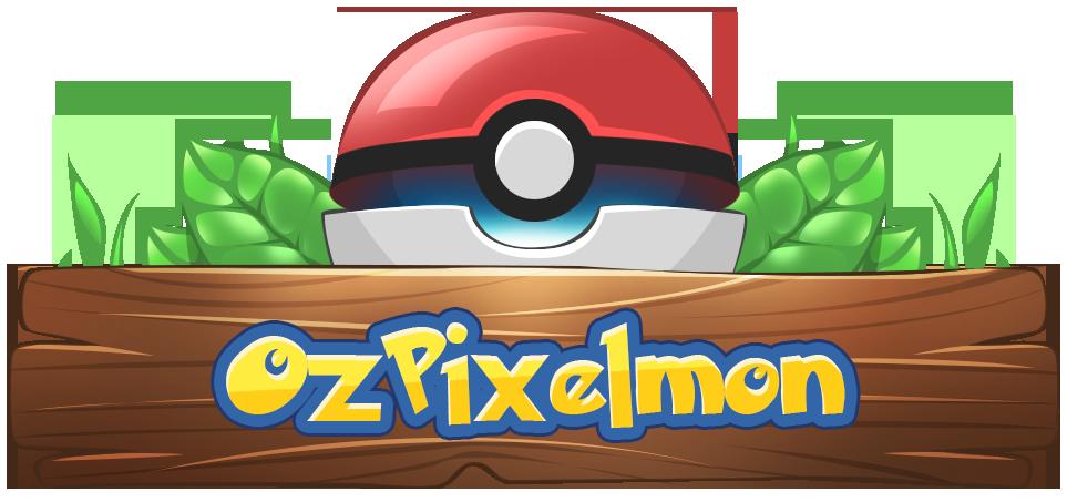 Banner for OzPixelmon server