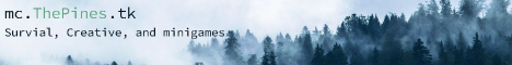 Banner for The Pines server