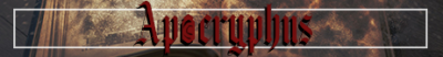 Banner for Apocryphus server
