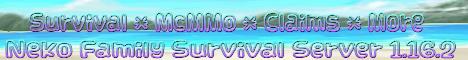 Banner for Neko Family Server server