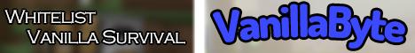 Banner for VanillaByte server