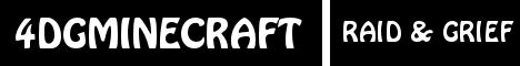 Banner for 4DGMinecraft server