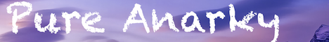 Banner for Pure Anarky server
