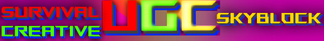Banner for UGC Network Minecraft server