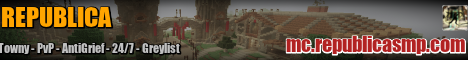 Banner for Republica Minecraft server