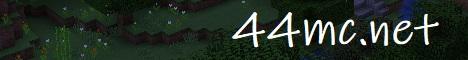 Banner for 44 Minecraft server