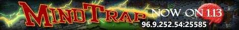 Banner for MindTrap Minecraft server