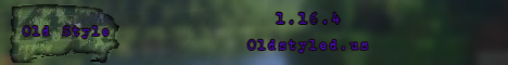 Banner for Old Style server