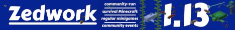 Banner for Zedwork Vanilla Minecraft server