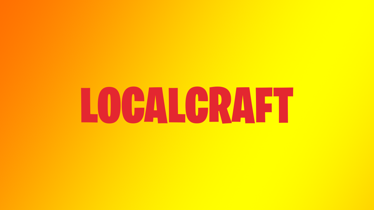 Banner for Local Craft server