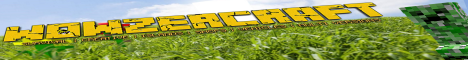 Banner for WowzerCraft Minecraft server