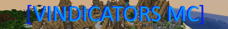 Banner for Vindicators MC Minecraft server