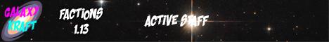 Banner for GalaxyKraft server