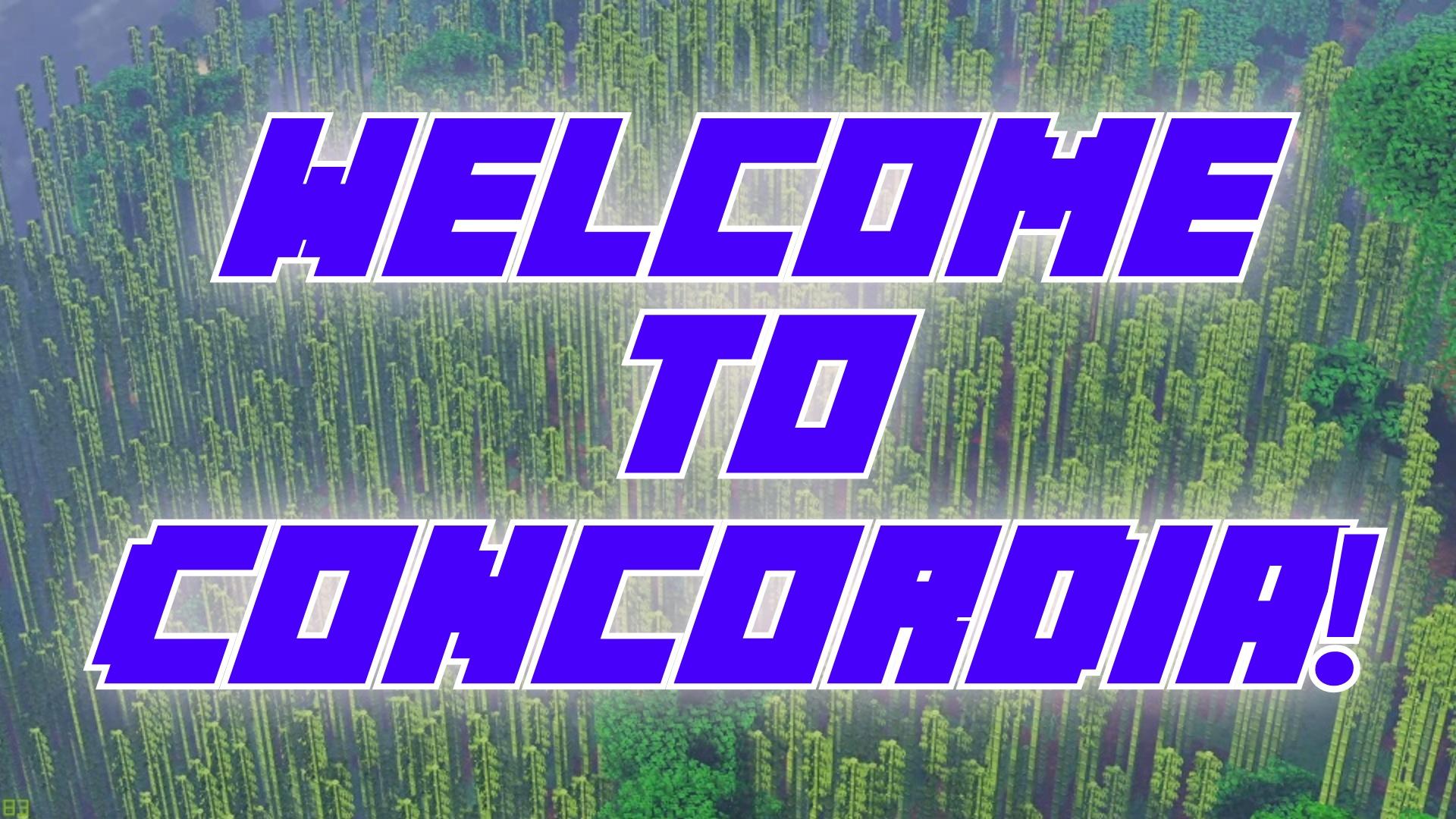 Banner for Concordia server