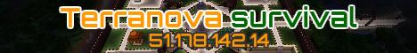 Banner for Terranova survival server