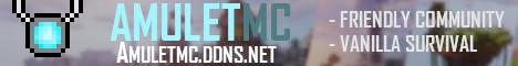 Banner for AmuletMC server