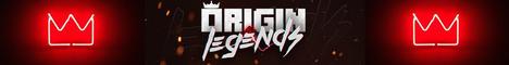 Banner for Origin Legends server