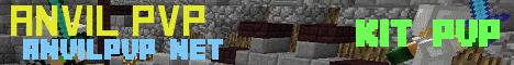 Banner for Anvil PVP server