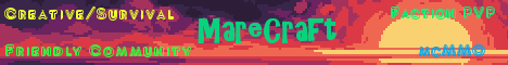 Banner for MareCraft server
