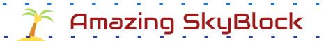 Banner for Amazing Skyblock server