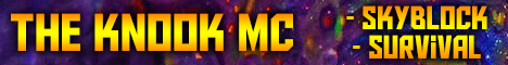 Banner for The Knook MC server