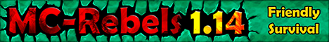 Banner for MC-Rebels Minecraft server