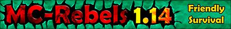 Banner for MC-Rebels server