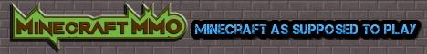 Banner for Minecraft MMO server