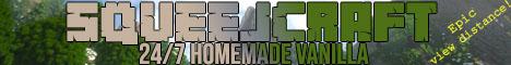 Banner for SqueejCraft Minecraft server
