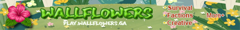 Banner for Wallflowers Server Minecraft server