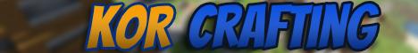 Banner for KoR Crafting Minecraft server