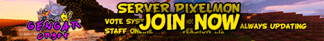 Banner for GengaraCraft Pixelmon Server Minecraft server