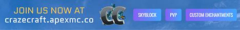 Banner for Craze Craft server