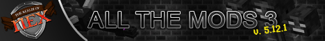 Banner for [*NEW*][All The Mods 3] The Realm Of Nex Minecraft server