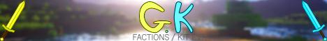 Banner for GKPVP Minecraft server