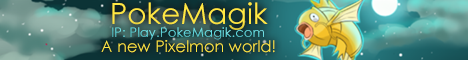 Banner for PokeMagik server