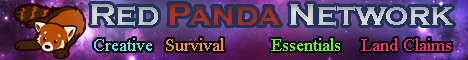 Banner for Red Panda Network server