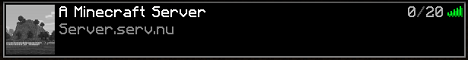 Banner for A Minecraft Server Minecraft server